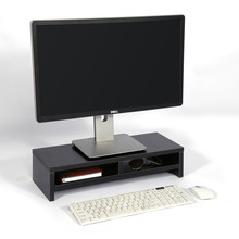 LCD TV Laptop Rack Computer Screen Riser Stand Shelf Organizer Computer Monitor Riser Desktop Storage Shelf(China)