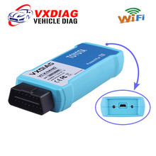 Original VXDIAG VCX NANO WIFI for TOYOTA TIS Techstream Version 10.10.018 Compatible with SAE J2534 free shipping(China)