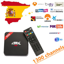 Buy Spain IPTV H96 Android TV Box RK3229 Quad core Cortex A7 Android 6.0 TV Box 1G/8G HDMI 2.0 WIFI 4K 1080P English Franch for $64.00 in AliExpress store