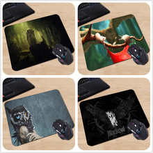 Babaite Customized Mouse Pad Artwork Fantasy Art Mice Owls Trendy Fashion Computer Notebook Rectangle Rubber Mouse Mat(China)