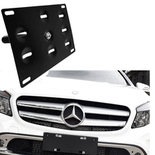 Bumper Tow Hook License Plate Mounting Bracket Holder For Benz W204 W212 W216 New W221