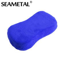 Car Wash Sponge Tools Covered by Ultra Fiber Super Water Absorption Soft  Handheld Cleaning Care Furniture Glass Washer