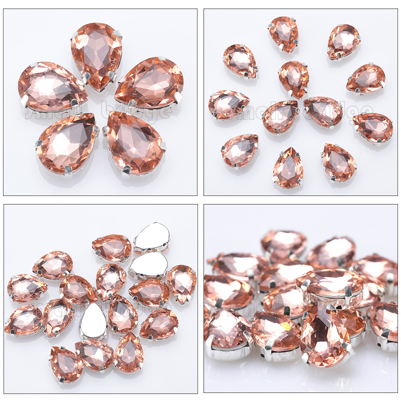 Crystal Sewing Beads (20)