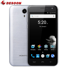 Unlock Original Homtom HT3 HT3 PRO Mobile phone 5.0 HD 1280*720 Android 5.1 Dual sim 3G 4G Quad Core smartphone(China)