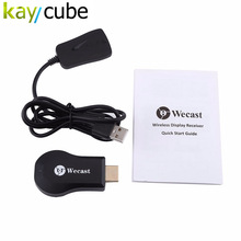 Wecast C2+ Miracast DLNA Wireless WiFi Display TV Dongle HDMI Streaming Media Player Support Mirroring for Android iOS Windows