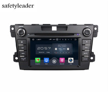 "Octa Core 2 din 7"" Android 6.0 Car Player DVD GPS for Mazda CX-7 CX 7 With Radio 2GB RAM Bluetooth WIFI 32GB ROM USB DVR OBD"