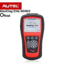 Autel MaxiDiag Elite MD802 Pro For All Systems Diagnostic Tool multifunctional Free Shipping(China)