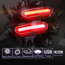 2016 Bike Led Taillight MTB Bicycle Cycling Rear Light Bycicle Outdoor Cycling Warning Lamp Night Safety Taillight 4 Color