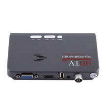 Digital 1080P HD HDMI DVB-T2 TV Box Tuner Receiver Converter Remote Control With VGA Port