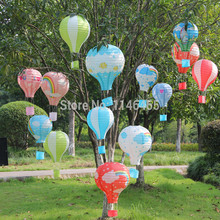 Paper Chinese wishing lantern 500 Pcs 40cm 12 color hot air balloon Fire Sky lantern for Birthday Wedding Party