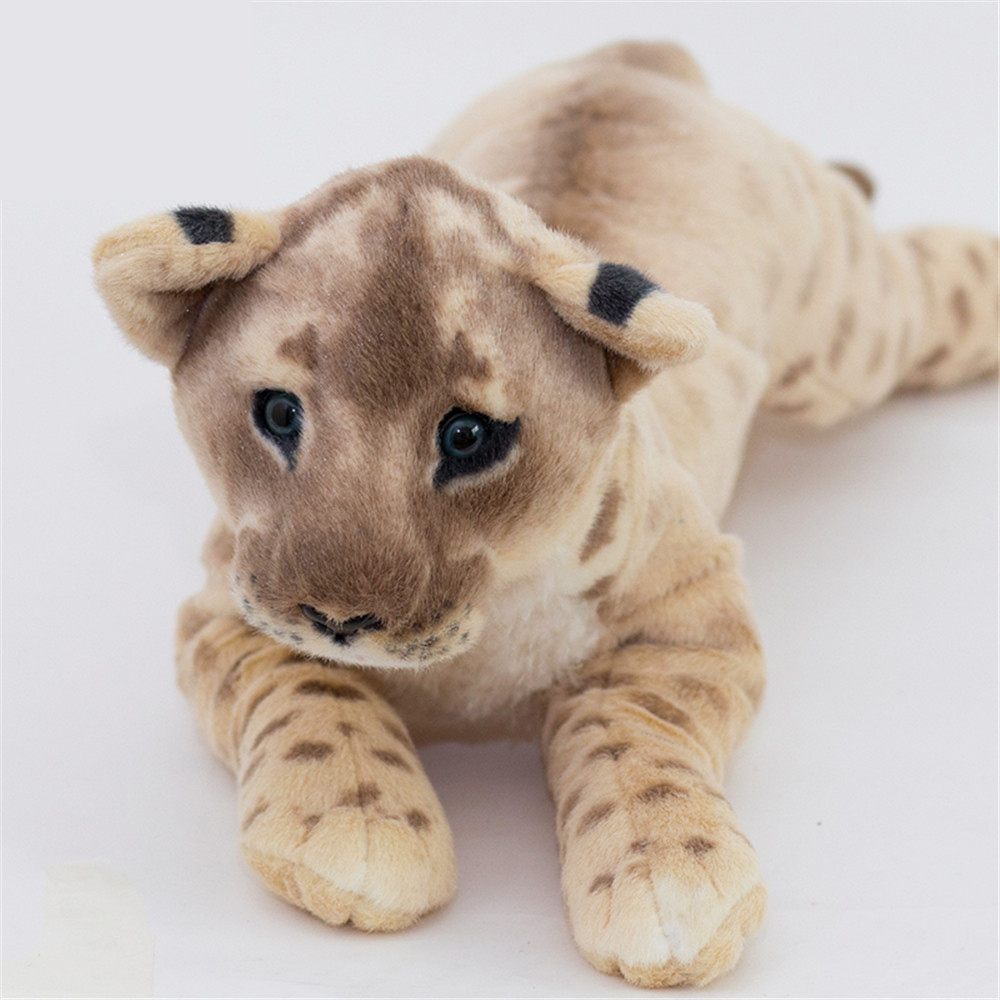 Fancytrader Soft Stuffed Animals Tiger Plush Toys Pillow Simulated Animal Baby Tiger Leopard Doll Brinquedo Toys For Children12