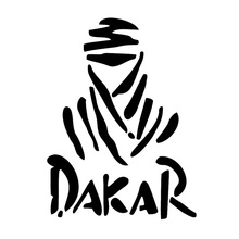 11.4*15.4CM Dakar Paris Rally Race Logo Car Window Decal Vinyl Car Sticker C1-4000(China)