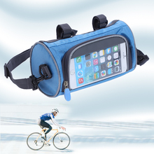 Buy Cycling Pouch Cellphone Bags MTB Mountain Road Bike Bicycle Front Top Tube Frame Handlebar Waterproof Bag for $7.00 in AliExpress store