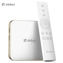 Zidoo h6 Pro Android 7.0 ТВ коробка 4 К 10bit HDR Allwinner h6 2 ГБ 16 ГБ WI-FI 1000 м LAN dolby digital dts-HD bt4.1 media player(China)