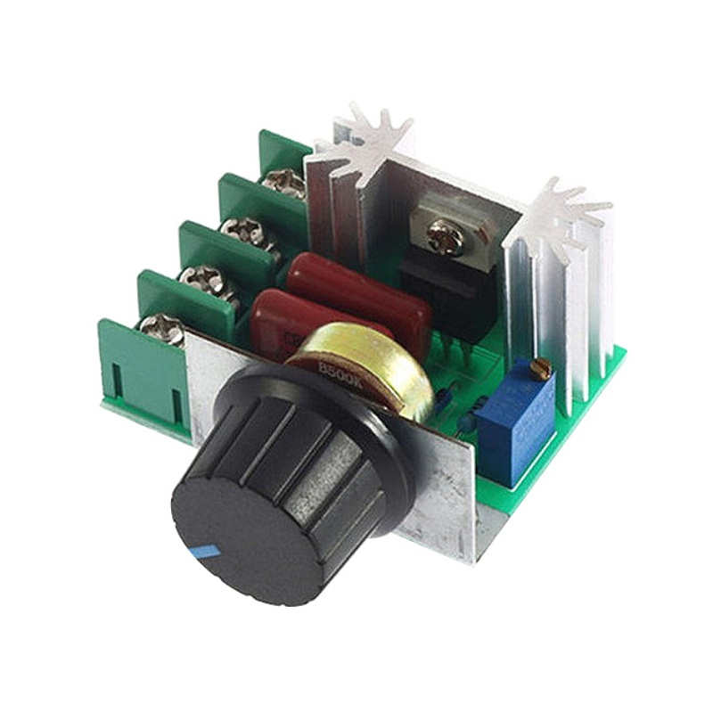 1pc AC 220V 2000W High Power Thyristor Dimmer Electronic Voltage Regulator for Temperature Control For 2017