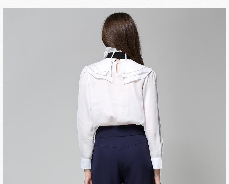 Long Sleeve Office Ladies Women Shirts (31)