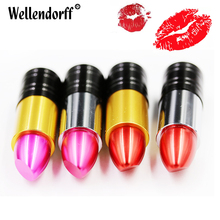 Wholesale full capacity pen drive 4GB 8GB 16GB 32GB 64GB pretty lipstick 2.0 128GB Memory Stick USB Flash Drive Disk(China)