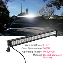 14 22 32 42 50 52 Inch LED Light Bar Led Light Strip 36w 72w 120w 180w for Work Driving Boat Car Truck 4x4 SUV ATV Off Road