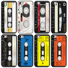 Nostalgic Retro Tape Video Tape Phone Case For iPHONE 4 4S 5 5S 5C 6 6S 6 PLUS 6S PLUS 7 7 PLUS