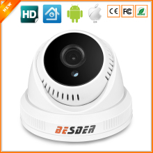BESDER XM510 + 1/4'' H42 Sensor 1.0MP Megapixel Indoor Dome IP Camera ONVIF P2P Mobile Monitoring Webcam 36 IR LED Night Vision
