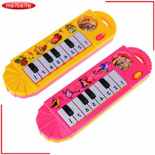 Baby Piano Toy Infant Toddler Developmental Toy Accordion Kids Musical Piano Early Educational Toy Musical Instrument Gift 3pcs