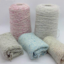 300g /lot yarn for knitting fibre hand knitting Crochet knitting wholesale weave knit cord Special fancy silk Magic color ZL49(China)