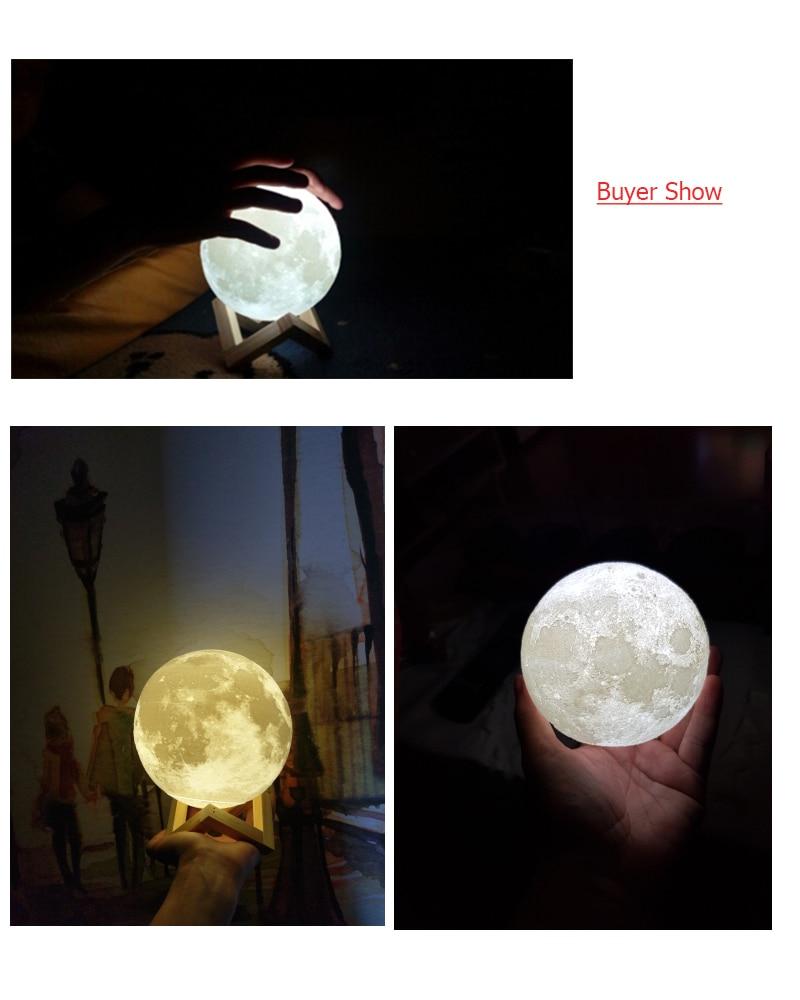 moon led show