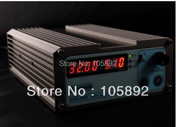 2pcs/lot  Mini precision Compact Digital Adjustable DC Power Supply OVP/OCP/OTP low power 32V5A 110V-230V 0.01V/0.01A<br>