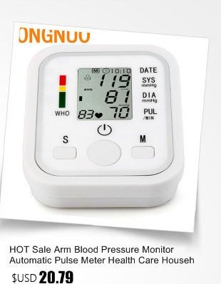 Digital Upper Arm Blood Pressure Pulse Monitor Household tonometer Portable Health Care Meter Sphygmomanometer medical equipment 19