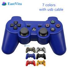 EastVita For Sony PS3 Wireless Bluetooth Game Controller 2.4GHz 7 Colors For SIXAXIS Playstation 3 Control Joystick Gamepad r30(China)