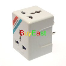 Lot 5 Australia/New Zealand/China 3 Way Power Outlet AC Power Adapter 13A Fused Masterplug(China)
