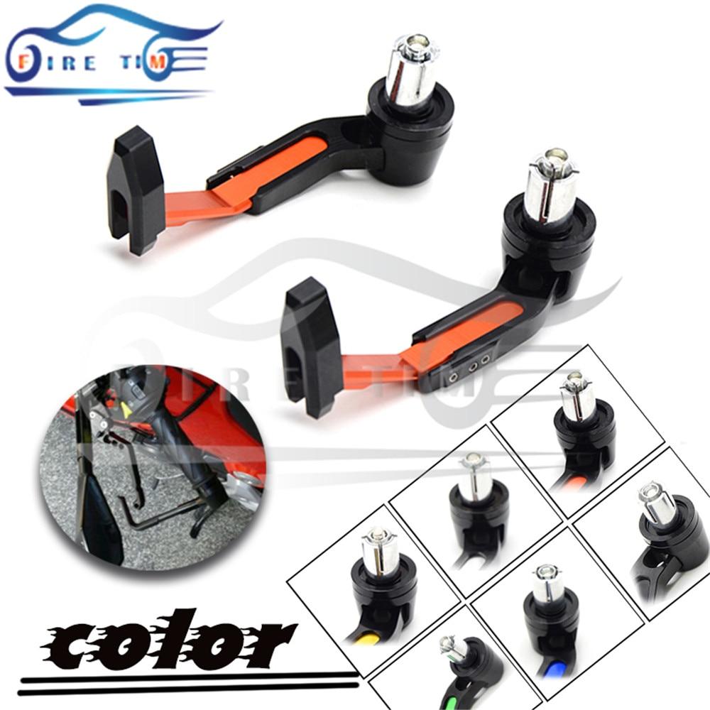 7/8 22mm Motorbike proguard system brake clutch levers protect for aprilia ducati honda hyosung triumph ktm suzuki yamaha<br><br>Aliexpress