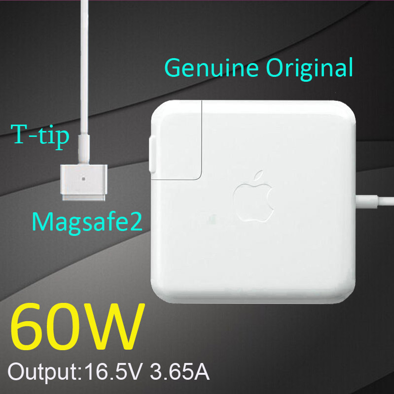 New Original magsafe 2 60W 16.5V 3.65A T tip Laptop power adapter charger for apple Macbook pro 13 A1435 A1465 A1425 A1502<br><br>Aliexpress