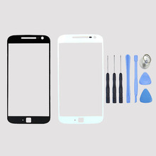 Replacement Front LCD Touch Screen Outer Glass Lens Panel For Motorola MOTO G4 Plus+Free Tools, Free Shipping&Tracking Number(China)