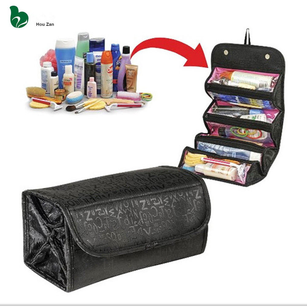 Necessaire Women Make Up Makeup Organizer Cosmetic Bag Box Vanity Case Beautician Neceser Toiletry Travel Necesser Purse Pouch(China (Mainland))