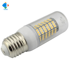 5X lampadine led E14 E27 12 volt 12w bulb lamp SMD 3528 120leds 12v super brightness 360 degree corn bulbs lighting for home
