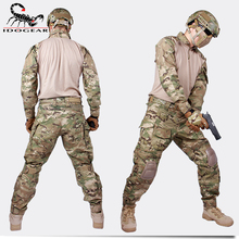 Ghillie suit winter hunting clothes Gen3 Combat Uniform paintball Airsoft Tactical BDU Multicam camouflage id(China)