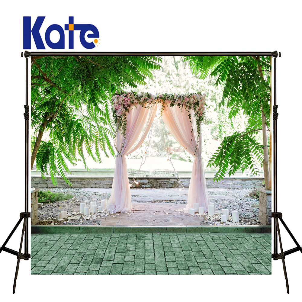 KATE Photo Background 8x8ft Scenic Photography Backdrops Old Brick Floor Backdrop Wedding Flower Stand Background for Studio<br>