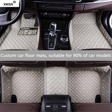 XWSN custom car floor mat for Dodge all models Journey Challenger auto accessories Car styling Car carpet(China)