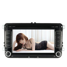2 Din Car DVD Player GPS Navigation double din Car Autoradio Video/Mutimedia Player PC Stereo for VW Europe Map +Free Card