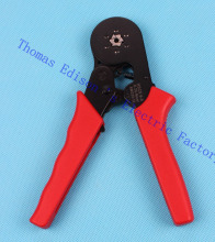 HSC8 6-6 MINI-TYPE SELF-ADJUSTABLE CRIMPING PLIER 0.25-6mm2 Ali HSC86-6 terminals crimping tools multi tool tools Red