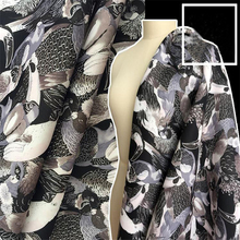 Real Promotion Low Price Polyester Spandex Printed Fashion Apparel Fabric