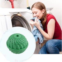 Eco-Friendly Anion Molecules Cleaning Cleaner Magic Washing Wash Laundry Ball Green New Arrival(China)
