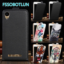 Factory Direct! For Ginzzu S5230 Case 2017 High Quality Up and Down Flip PU Leather Cartoon Drawing Vertical Phone Cover(China)