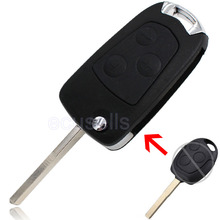 New Replacement For Ford Focus Mondeo Ka Conversion Modify Flip 3 Button Key Shell Fob Remote Key Case Folding Car Key Cover