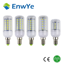 E14 5730 Led Lamps 220V 230V 240V 7W 12W 15W 18W 20W LED Lights Corn Led Bulb Christmas Chandelier Candle Lighting 360 degree