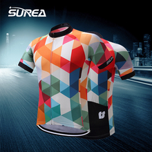 SUREA 2017 Cycling Jersey Mtb Bicycle Clothing Bike Wear Clothes Short Maillot Roupa Ropa De Ciclismo Hombre Verano #DX-018