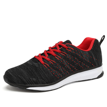 Top Quality Flywire Light Running Shoes Men Sports Sneakers breathable mesh outdoor athletic shoes Adults Trainer size EU 39-46