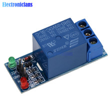 5V Low Level Trigger One 1 Channel Relay Module DC AC 220V Interface Relay Board Shield for Arduino