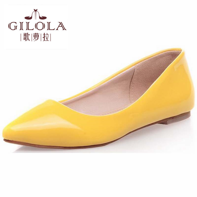 2017 new design fashion lady female women flat shoes womens flats shoes woman spring summer womens black red shoes #Y0952203F<br><br>Aliexpress